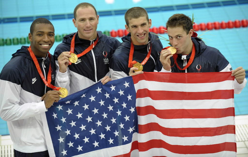 4x100 Mens Gold 2008