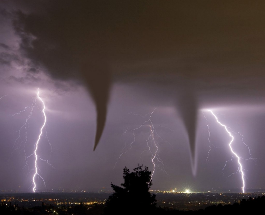 Tornadoes-forming